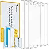 xperia z3 compact with warranty - Mr Shield For Sony Xperia Z3 Compact Anti Glare [Matte] Screen Protector [3-PACK] with Lifetime Replacement Warranty