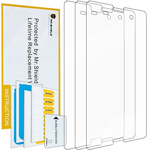 Mr Shield For Sony Xperia Z3 Compact Anti Glare [Matte] Screen Protector [3-PACK] with Lifetime Replacement Warranty