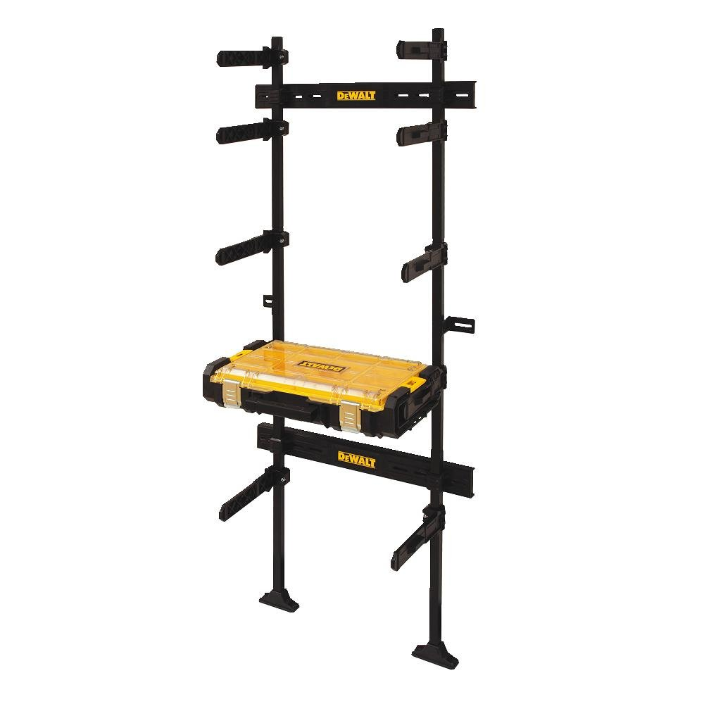 DEWALT DWST08270 Tough System Workshop Racking System with Tough System Organizer