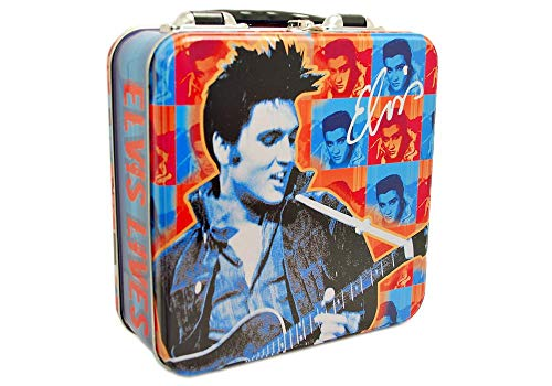 Elvis Presley Square Tin Tote ()