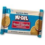 MI-DEL Vanilla Sandwich Gluten Free Cookie 227g