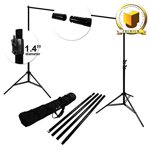 Limo Premium Pro Studio 8.5' X 10' Photo Backdrop Support Stand Kit, Lmp108 by LimoStudio