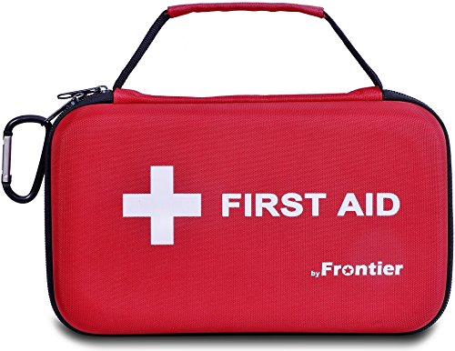Multi-Purpose First Aid Kit - 205 Pieces - Hard Case with essential Emergency supplies for survival situations - Ideal for Family, Home, Work, Travel, Car, Camping, Hiking, Sports, Fishing, Outdoors.