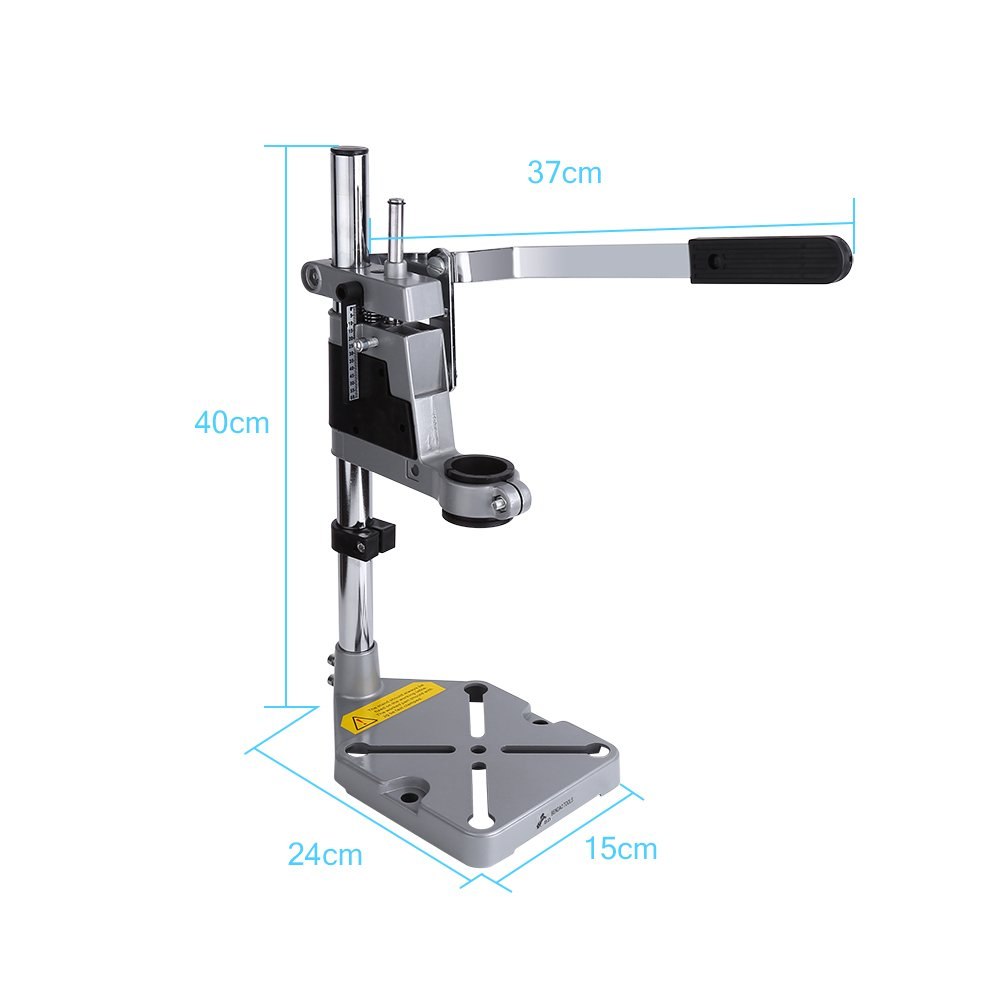 Yosoo Drill Stand Holder, Adjustable Bench Clamp Drill Press Stand Workbench Repair Tool for Drilling Collet Workshop Universal by Yosoo (Image #3)