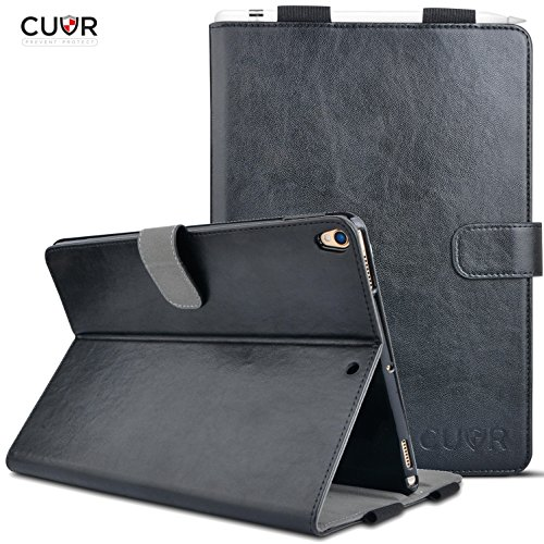 newest f6874 9d9cc iPad Pro 10.5 Case with Pencil Holder by Cuvr   Folio Smart - Import It All