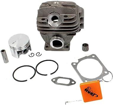 Huri 44mm Zylinder Kolbensatz Für Stihl Ms260 026 Kettensäge Mit Dichtung Nadellager Auto
