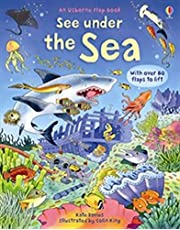 Under the Sea (See Inside): An Usborne Flap Book. With over 80 flaps to lift