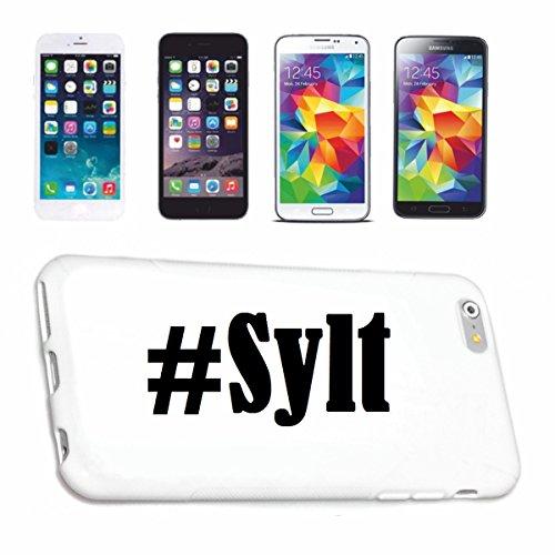 Handyhülle iPhone 6 Hashtag ... #Sylt ... im Social Network Design Hardcase Schutzhülle Handycover Smart Cover für Apple iPhone … in Weiß … Schlank und schön, das ist unser HardCase. Das Case wird mit