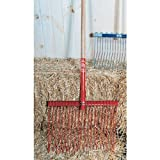 Apple Picker, Ltd 1845 Red Big Daddy Stable Fork Handle Large
