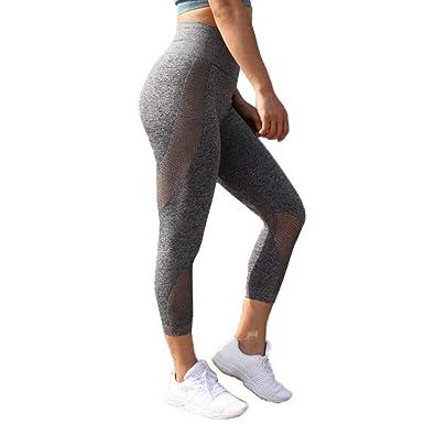 Pantalones De Yoga Mujer Polainas De Fitness Pantalón ...