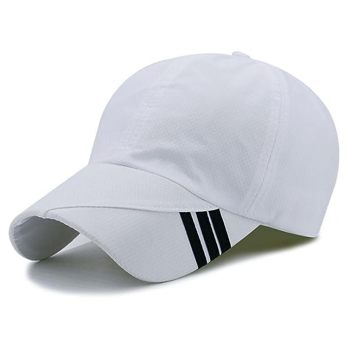 Hongtellor Cappello Di Sole Cappellini Da Baseball estivo da Uomo Donna  All Aperto Traspirante Tappo 7716c56565da