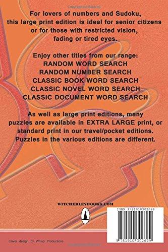 Large Print Classic Sudoku 3 100 Puzzles Level 5 Hard Volume 3