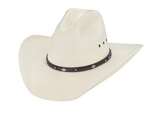 Amazon.com  Larry Mahan 10X Ranger Straw Cowboy Hat (7 5 8 f9c3f1415a0