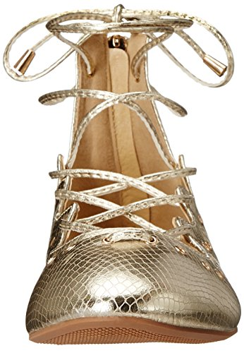 Women's Britney Shoes Wanted Gold Flat Ballet wZFF7p