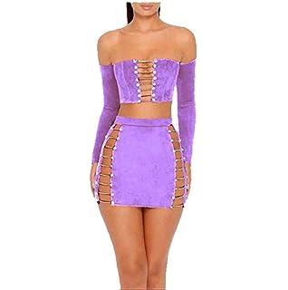 Amazon.com: SpeedLE para mujer Sexy trajes de dos piezas ...