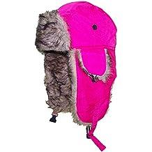 Best Winter Hats Little Kids Soft Nylon Russian/Aviator Winter Hat (One Size)