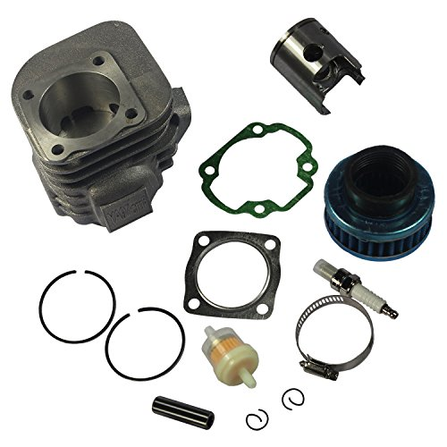 - JDMSPEED New Cylinder Piston Kit Pin Clips Gaskets for Polaris ATV 90 Sportsman 2001-06 90CC