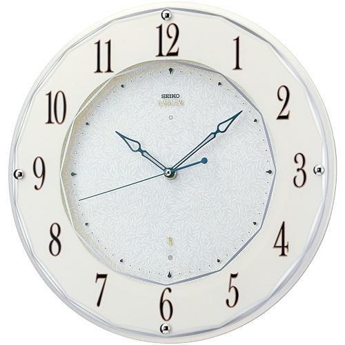 SEIKO CLOCK EMBLEM(セイコークロックエンブレム) 電波掛け時計 HS524W B001FQIMXK