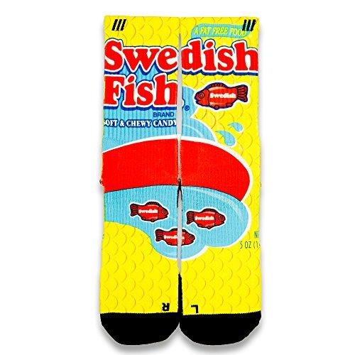 Price comparison product image Swedish Fish Custom Elite Socks (Large 8 -12)