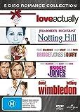 Bridget Jones 1 & 2/Love Actually/Notting Hill/Wimbledon 5 DVD pack