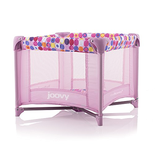 JOOVY Toy Room2 Playard, Pink Dot