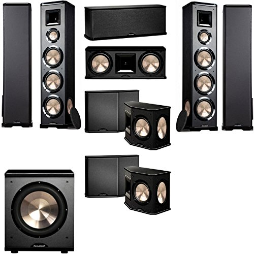BIC Acoustech PL-980 7.1 Home Theater System-NEW!! PL-200II Sub