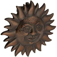 Smiling Sunface Door Knocker - Oiled Bronze (Premium Size) by Michael Healy Designs