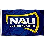 NAU Lumberjacks Large Blue 3x5 College Flag