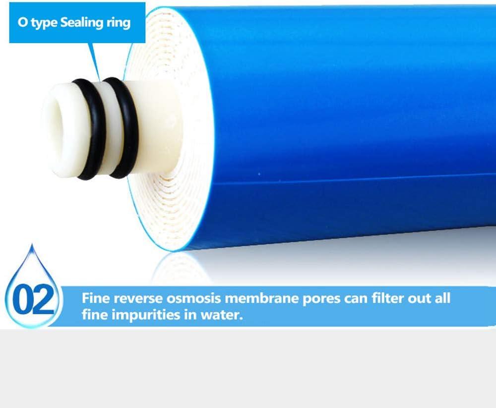 KKmoon 1812-75G Osmosi Inversa Membrana 75GPD RO Compatibile Universale RO Sostitutivo Adatto Depuratore Filtro Acqua Residenziale