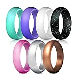 angju Silicone Wedding Ring for Women, Affordable