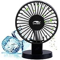 Mini Fan,OUCU Mini USB Desk Personal Fan for Office, Home and Traveling (Black)