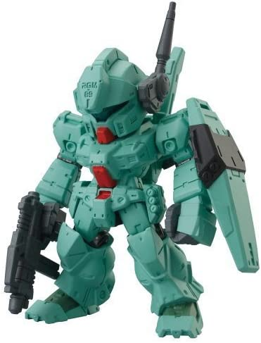Bandai FW Gundam Converge Operation Revive Hi-V Hyaku-Shiki Exia Jegan 6 Figure