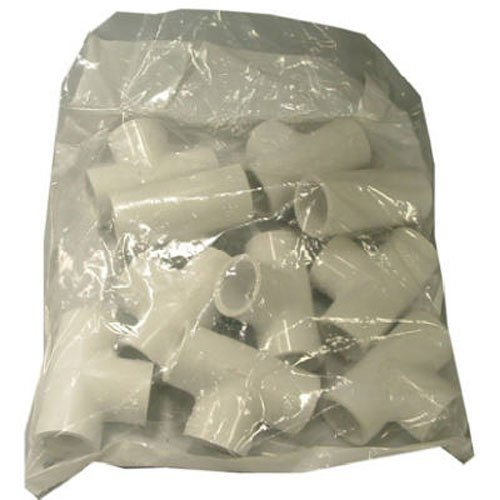 Pvc Pressure Pipe Fittings - Genova Products 31405CP 1/2-Inch PVC Pipe Tee - 10 Pack