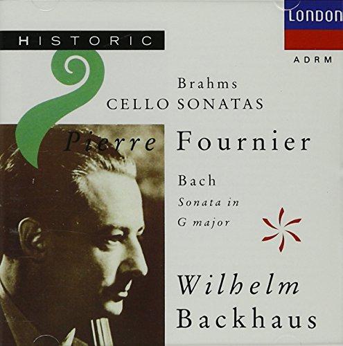 Brahms : Cello Sonatas 1 & 2 ; Bach: Sonata in G for Viola da Gamba and Continuo BWV 1027 (London) (Cello Sonatas Two)