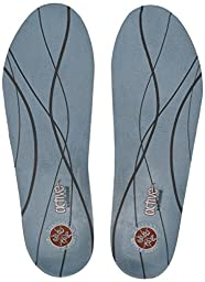 Plantar Fasciitis Pain Relieving Orthotic Insoles - Light Blue - Women\'s 8.5-10, Men\'s 7.5-9