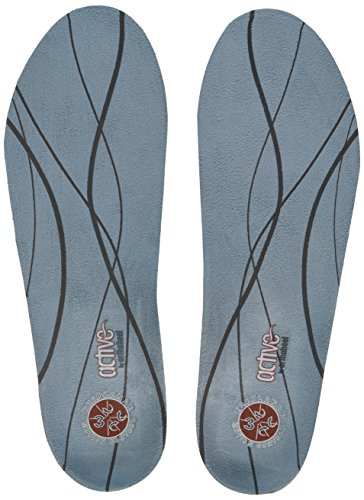 Plantar Fasciitis Pain Relieving Orthotic Insoles - Light Blue - Women's 8.5-10, Men's 7.5-9