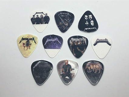 Amazon.com: Juego de púas para guitarra de Metallica (10 ...