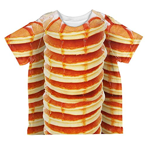 Halloween Pancakes and Syrup Breakfast Costume All Over Toddler T Shirt Multi 6T for $<!--$23.95-->