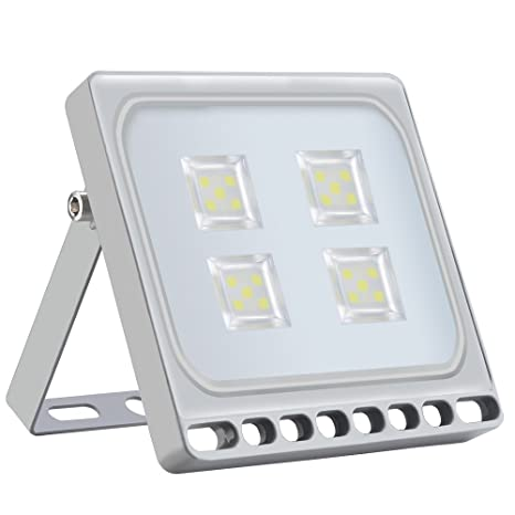 Heilsa 20W LED Flood Light, Cold White 6000-6500K, 2200Lm Super Bright Security