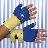 Impacto Ergonomic Anti-Impact Glove Liner with Wrist Support - MD - Pair