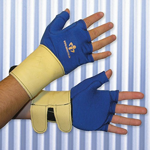 Impacto Ergonomic Anti-Impact Glove Liner with Wrist Support - MD - Pair