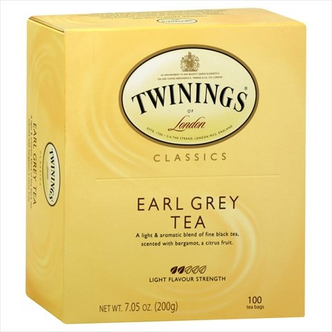 Tea Earl Grey 100 Ct -Pack of 5