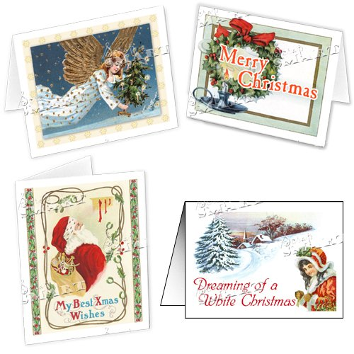 Amazon.com: ScrapSMART - Christmas Cards and Envelopes Software Collection - Victorian [Download]: Software
