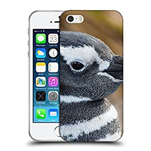 Super Galaxy Coque de Protection TPU Silicone Case pour // V00000150 Pingüino // Apple iPhone 5 5S 5G SE