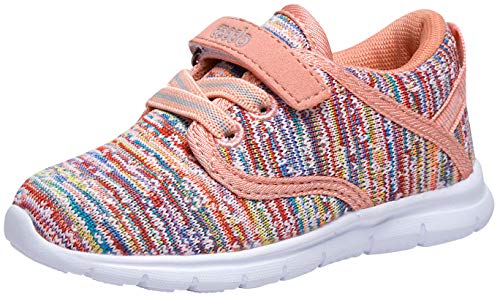 COODO Toddler Kid's Sneakers Boys Girls Cute Casual Running Shoes (4 M US Toddler,Multicoloured) -