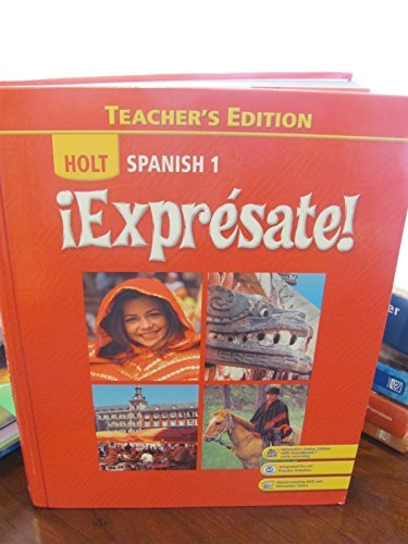 Thing need consider when find spanish textbook teachers edition expresate?