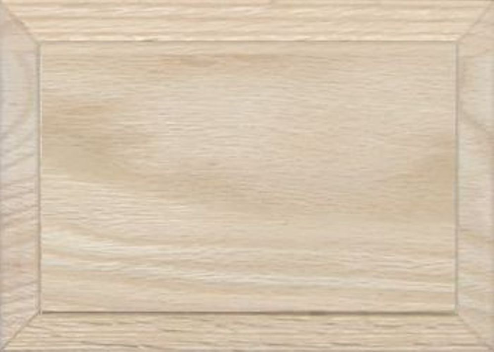 Unfinished Oak Flat Drawer Front with Edge Detail by Kendor, 5H x 7W Kendor Wood Inc.