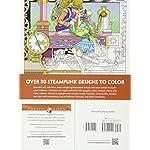 Creative Haven Steampunk Designs Coloring Book (Creative Haven Coloring Books) 7