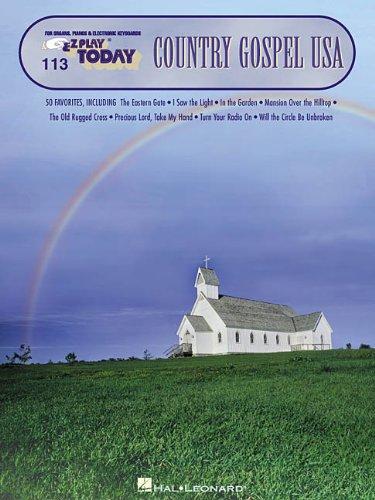 Country Gospel USA: E-Z Play Today Volume 113