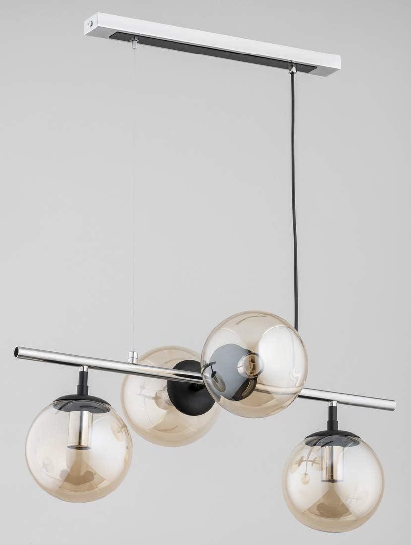 Alfa GINGER 62083 - Lámpara de techo (4 x 40 W, E14)